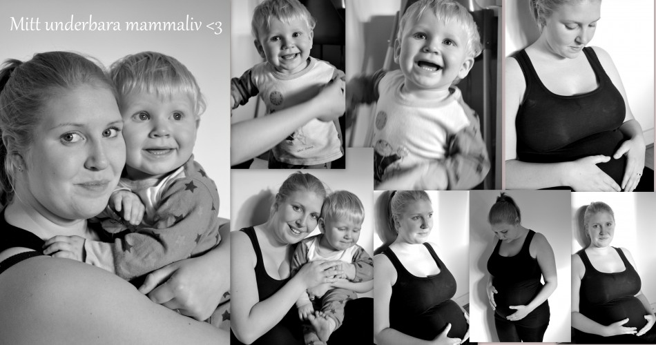 Mimmi, mamma till världens bästa Sam som nu ska bli storebror